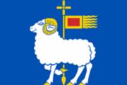 Gotlands flag miniature