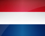 Hollands flag miniature