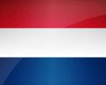 Hollands flag miniature