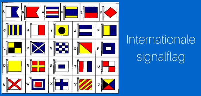 Signalflag til både og skibe