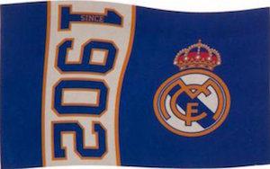 Real Madrid flag 1902