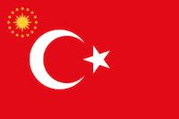 Den Tyrkiske præsidents flag